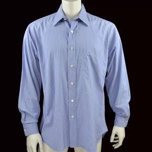 Gitman Bros Mens Dress Shirt Neck 16 Sleeves 34